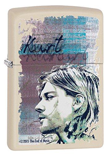 Zippo Kurt Cobain Cream Matte 29051 Lighter