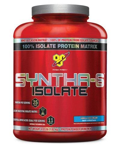 BSN Syntha-6 de protéine en poudre Boisson, Vanilla Ice Cream, £ 4,0 (48 portions)