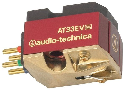 Cartuchos Audio Technica AT33EV Phonograph