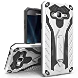Samsung Galaxy On5 Case, Zizo [Static Series] Shockproof [Military Grade Drop Tested] with Kickstand [Galaxy On5 Heavy Duty Case] Impact Resistant