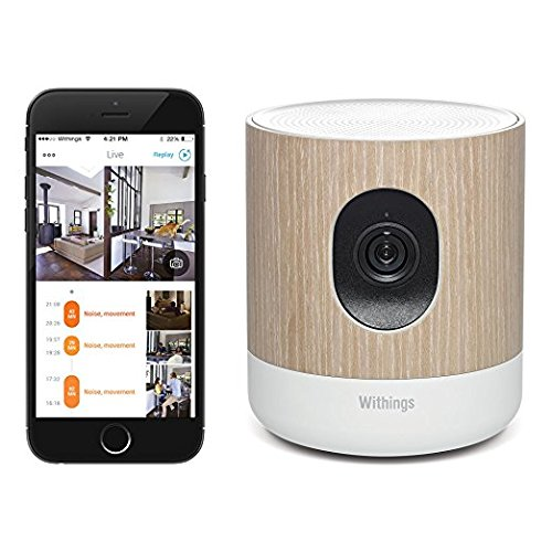 Withings Home - Wi-Fi Security Camera with Air Quality Sensors by Withings