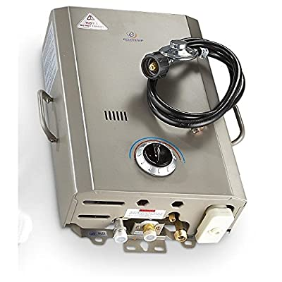 Eccotemp Systems L7 L7 Portable Tankless Water Heater, Grey