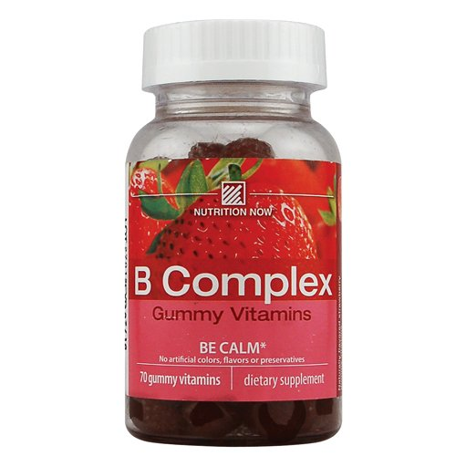Nutrition Now Vitamin B Complex Adult Gummy Vitamins, 0.46 Bottles (Pack Of 2) ()