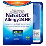 Nasacort Allergy 24 Hour 120 Sprays, 0.57 Fluid Ounce (Pack of 3) xTc&L