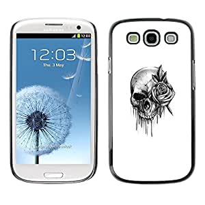 Plastic Shell Protective Case Cover || Samsung Galaxy S3 I9300 || Rock Roll Death Metal Ink @XPTECH