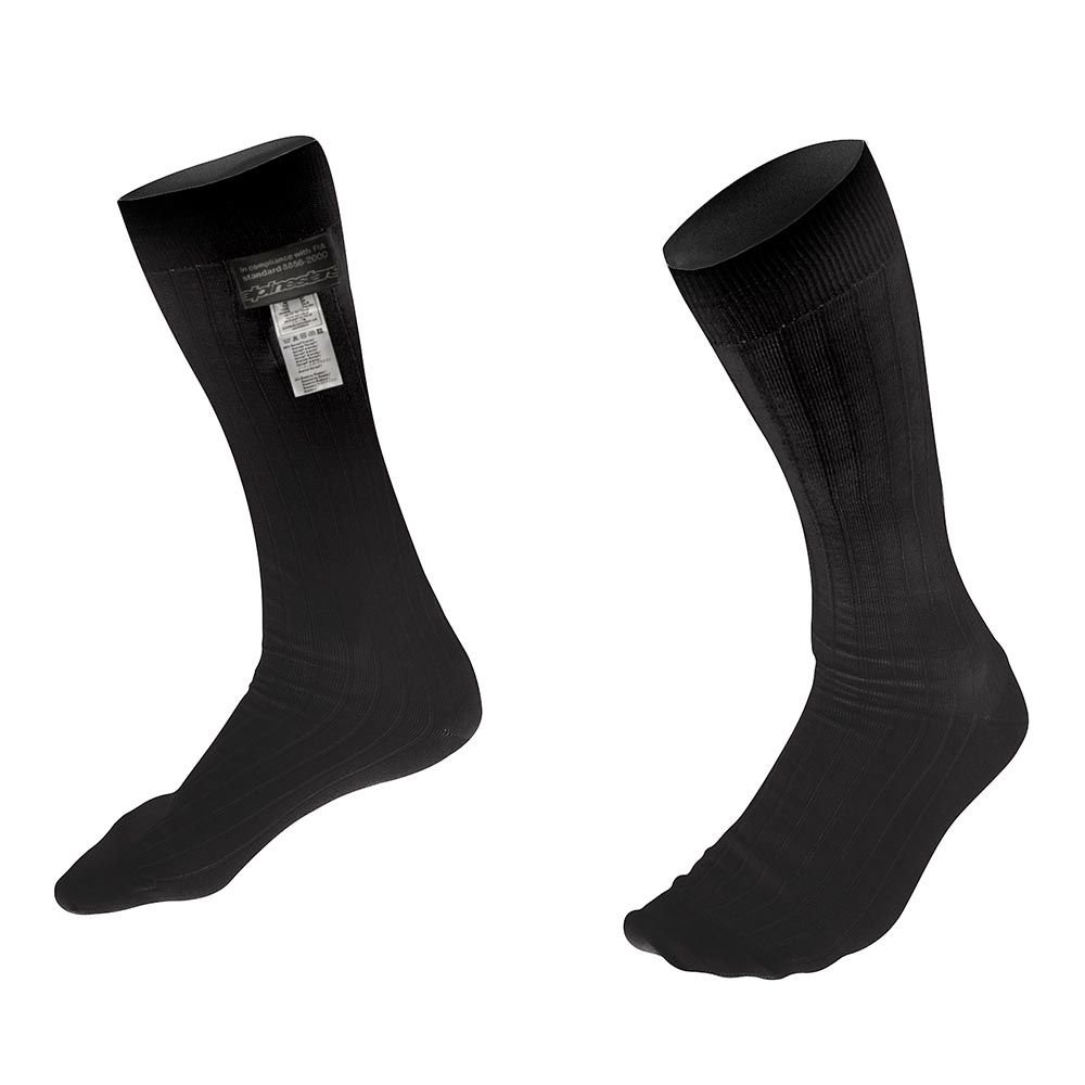 Alpinestars Mens Nomex Sock (Black, Large), 1 Pack