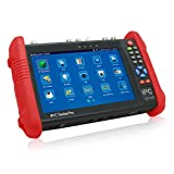 HITSAN New 7 Inch 5 in 1 CCTV Tester Monitor IP HD AHD CVI TVI Analog Cameras Testing 1080P WIFI Onvif One Piece