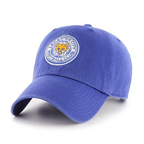 International Soccer Leicester City EPL OTS Challenger Adjustable Hat, Royal, One Size (Soccer Hat)