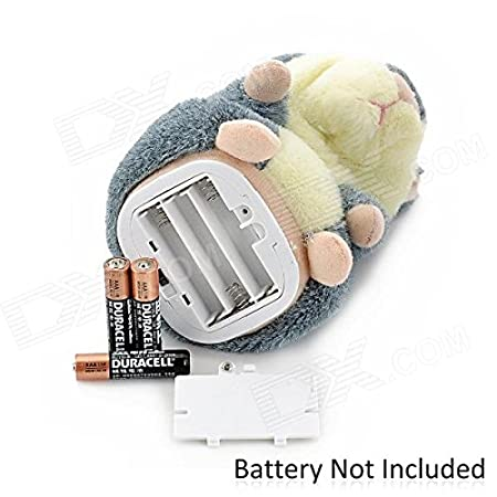2PCS talking Hamster Repeats What You Say Electronic Pet Talking Plush Toy Buddy Mouse for Kids, 3 x 5.7 inches, Batteries Not Included