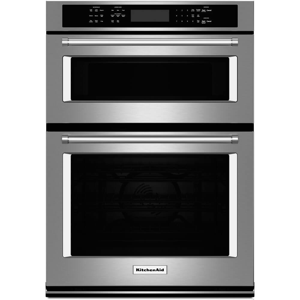 Kitchen Aid KOCE500ESS 30 Double Electric Wall Oven with 5.0 cu. ft by KitchenAid