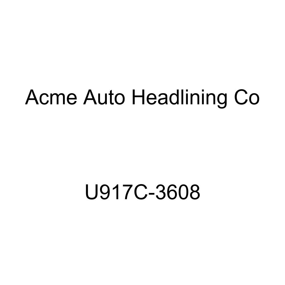 Acme U917C-3608 Front and Rear Light Blue Vinyl Bench Seat Upholstery