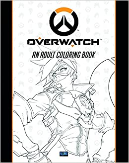 Overwatch Coloring Book Amazoncouk Blizzard Entertainment 9781945683060 Books