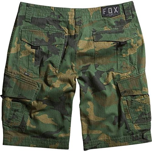 Fox Racing Boys Slambozo Cargo Shorts-5 Green Camo