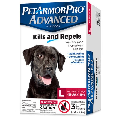 PetArmorPro Advanced Large 45 88 9 lbs product image
