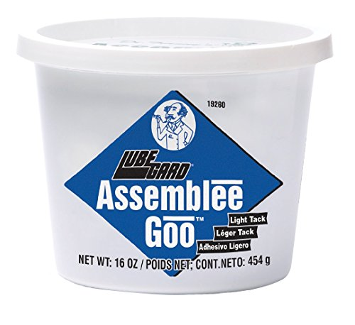 Transmission 16 - Lubegard 19260 Dr. Tranny Assemblee Goo, Blue, Light Tack Lubricant, 16 oz.