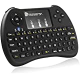 Beastron 2.4G Mini Wireless Keyboard with Mouse Touchpad Rechargeable Combos for PC, Pad, Google Android TV Box and More