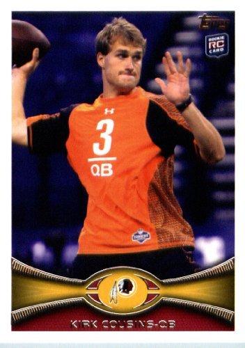 2012 Topps Football Card # 326 Kirk Cousins RC - Washington Redskins (RC - Rookie Card)(NFL Trading Card)