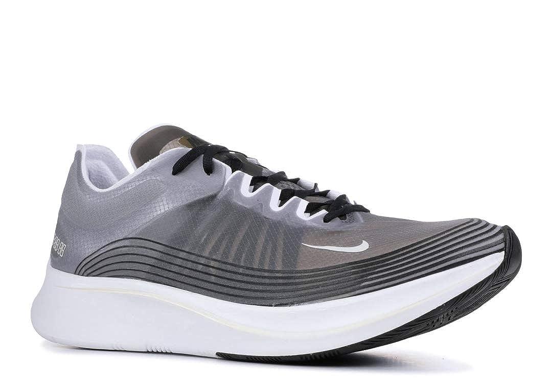 Black Light Bone-white Nike Mens Zoom Fly SP Lightweight Trainer Running shoes