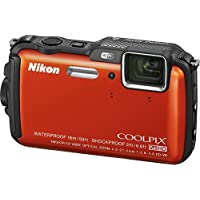 Nikon COOLPIX AW120 16.1 MP Wi-Fi and Waterproof Digital Camera with GPS and Full HD 1080p Video (Orange) (Certified Refurbished) Noticeable Review Image