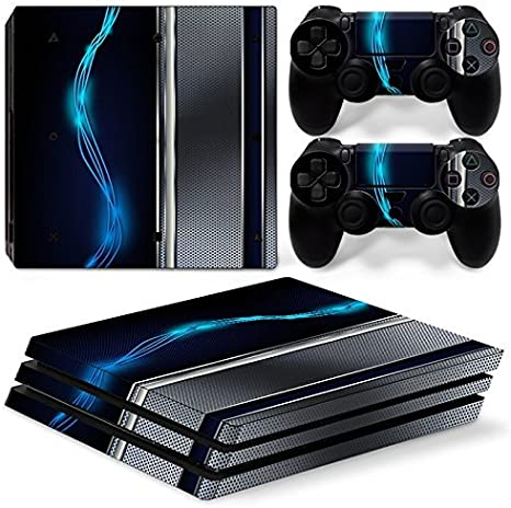 46 North Design Ps4 Pro Playstation 4 Pro Pegatinas De La Consola ...