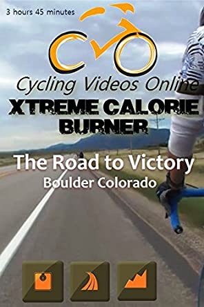 Xtreme Calorie Burner! Road to Victory. Boulder Colorado. Indoor Cycling Training / Spinning Fitness and Workout Videos. Blu Ray Edition Blu-ray: Amazon.es: Cine y Series TV