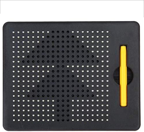 ポータブル Magnaドローイングボード– 380内蔵磁気ボール付きの楽しいデザインとドロートラベルタブレット、一致するスタイラスペン、持ち運びに便利なハンドルクリーン 贈り物