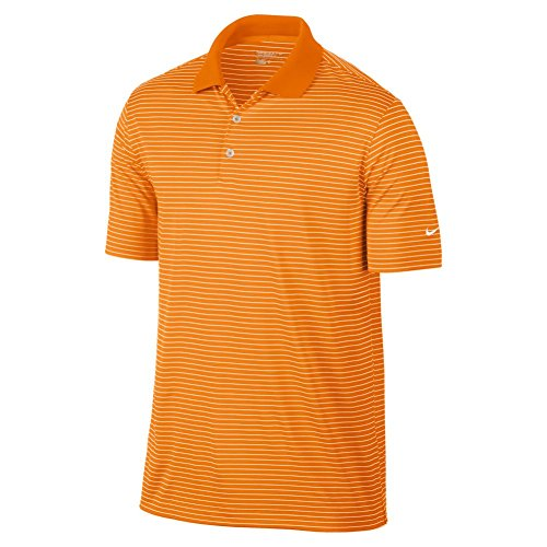 Nike Golf Victory Stripe Polo Bright Ceramic/White (Medium) ()