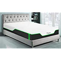 DynastyMattress NEW! CoolBreeze2-MEDIUM-SOFT Cooling Gel Memory Foam Mattress-FULL
