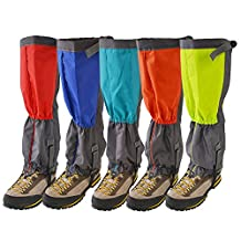 Unisex Outdoor Dual Legging Leg Warmer Waterproof Snowproof Windproof Walking Gaiters