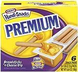 kraft cheese sticks - Kraft Premium Handi-Snacks, Breadsticks 'n Cheese Dip, 6.54 oz (Pack 9)