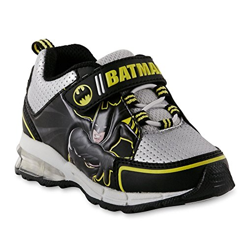 DC Comics Toddler Boys' Batman Sneaker, Light-Up (11 M US Toddler, Light-Up)