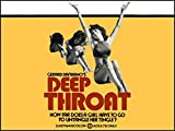 Deep Throat Fridge Magnet Linda Lovelace Classic Porn Movie Poster Canvas Print 3.5 x 5