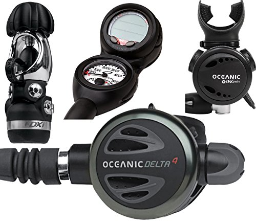 Oceanic discount dive package with console scuba gear - Discount dive gear ...