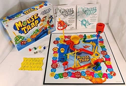 Mouse Trap Board Game 1999 Edition by Milton Bradley by Milton Bradley: Amazon.es: Juguetes y juegos
