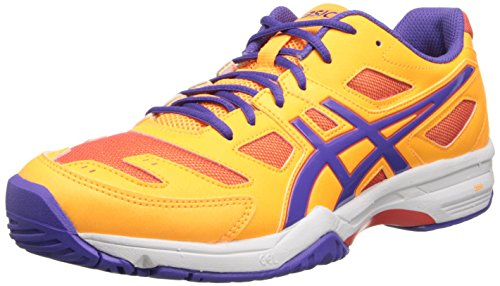 ASICS Women's Gel-Solution SLAM 2, Mango/Lavender/Hot Coral, 12 M US
