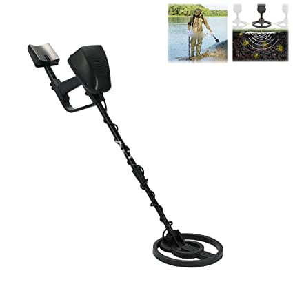 Amazon.com: WSBBQ Metal Detectors for Adults,Adjustable Stem and Treasure Hunter with LCD Display Professional High Sensitivity Underground Metal Detector: ...