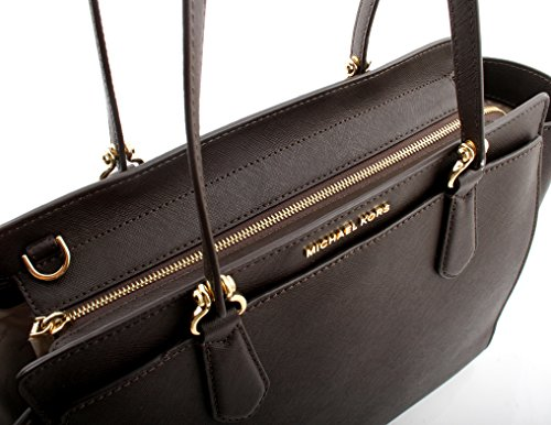a00d92ed8947 MICHAEL Michael Kors Dee Dee Medium Convertible Tote, Color Coffee: Handbags:  Amazon.com