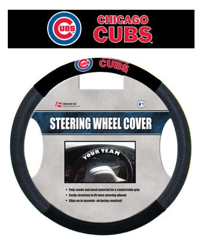 Chicago Cubs Steering Wheel Cover