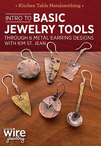 Intro to Basic Jewelry Tools Through 6 Metal Earring Designs