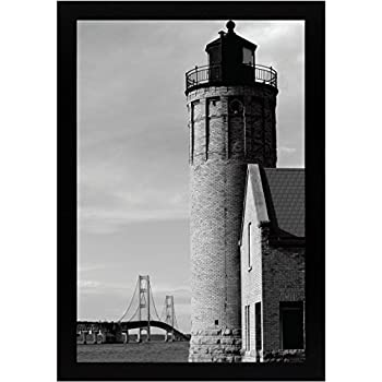 Amazoncom 12x18 Black Gallery Picture Frame Wide Molding