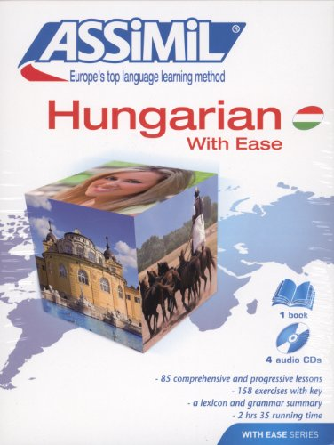 Assimil Pack Hungarian with Ease - Book + 4 CD's (Hungarian Edition) (Hungarian Language Assimil)