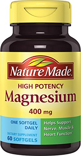 Nature Made High Potency Magnesium 400 Mg, 60-Count