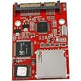 SODIAL(R)SATA変換アダプタへのSD SDHCセキュアデジタルMMC