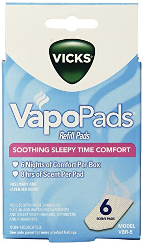 Vicks Sleepytime Waterless Vaporizer Scent Pads (Smile Humidifier compare prices)