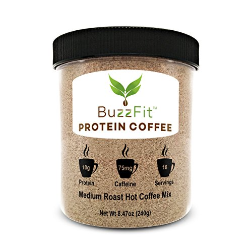 BuzzFit Protein Coffee - Colombian Coffee w/ 10g o…
