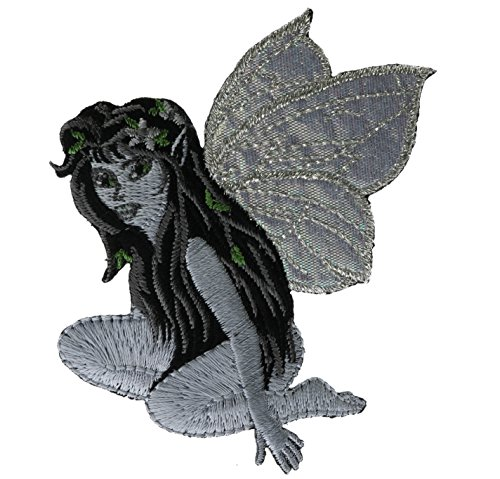 [Fairy Sparkle Wings 2.5 inch Patch NOVAfairy1] (Fairy Wing Tattoos)