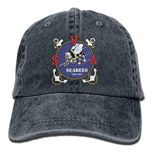 Seabee Veterans of America Dad Hat Adjustable Denim Hat Classic Baseball Cap