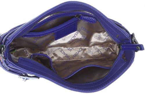 Versace, Borsa a spalla donna Viola viola 30 cmx 16 cmx 6 cm