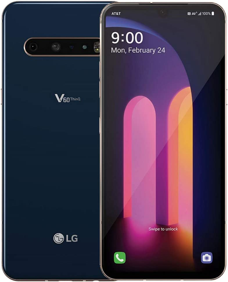 LG V60 ThinQ 5G LM-V600AM 128GB GSM Unlocked 6.8