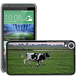 Hot Style Cell Phone PC Hard Case Cover // M00115470 Bull Cattle Running Cow Farm Mammal // HTC Desire 820
